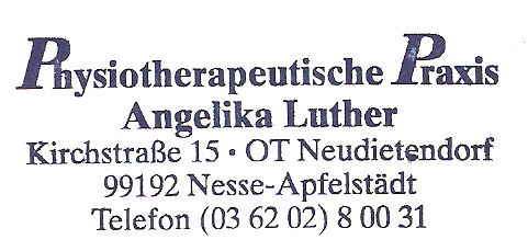 Physiotherapeutische Praxis Angelika Luther