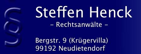 Henck steffen biography for Rechtsanwalt heck
